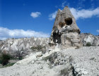 Turkey, Cappadocia, Ninnazan el Nazar Kilise (Church ) dating from the 10th century, valley near to Macan