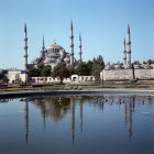 Turkey Istanbul the Sultan Ahmet (Blue Mosque) built by the Imperial Architect Mehmet Aga