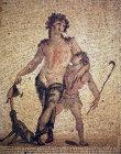 Drunken Dionysus, second century mosaic from Antioch, Archaeological Museum, Antioch, Turkey