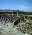 Turkey, Xanthos, Lycia, Theatre and Harpy tomb, 5th century BC,  a double tomb
