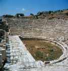Turkey, Aphrodisias, the theatre