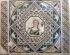 Demeter with cornucopia, third century Roman mosaic, Gaziantep, Zeugma mosaic museum, Turkey