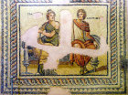 Metiokhos and Parthenope, third century, Gaziantep, Zeugma mosaic museum, Turkey