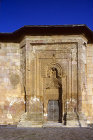 Divrigi mosque-hospital complex, built 1228-29, detail of mosque portal on west, Sivas, Turkey