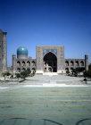 Uzbekistan, Smarkand, Tillya Kari Madrasa, Registan