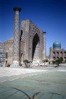 Uzbekistan, Smarkand, Ulug Beg Madrasa, Registan