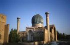 Uzbekistan, Samarkand, Gur Emir Mausoleum, tomb of Timur, central Asian emperor known as Tamburlaine the Great