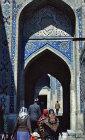 Uzbekistan, Samarkand, Shah i Zinda necropolis