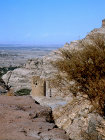 Ruined tower, Wadi Dahr, north Yemen