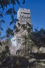 Rock palace, Wadi Dahr, north Yemen