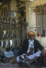 Yemen Taiz dagger shop in Suq