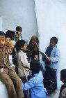 Koran school in Great Mosque, Al Janad, Yemen