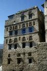 Facade of house, Jibla, Yemen