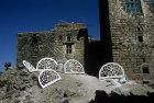 Plaster frames for windows, Jibla, Yemen