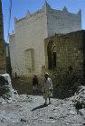 Street scene, Jibla, Yemen