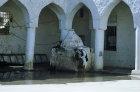 Courtyard of twelfth century Great Mosque, Jibla, Yemen