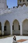 Courtyard of Great Mosque, Jibla, Yemen