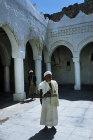 Imam at Great Mosque, Jibla, Yemen