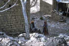 Man and woman, Hadda, near Sana