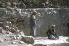 Two men talking, Hadda, near Sana