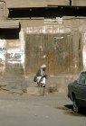Man at roadside, Sana