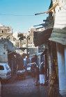 Street scene, Sana