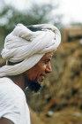 Man in North African village, Tihama, Yemen