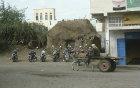 Donkey cart and motor bikes, Beit al Fakih, North Yemen