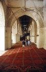 Great Mosque, built 628 AD, interior, Zabid, North Yemen