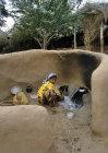 Woman in North African village, Tihama, Yemen