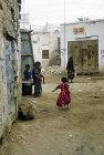 Children in street, Zabid, North Yemen