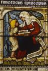 St Timothy and Eunice, 19th century stained glass, Christ Church Cathedral, Oxford, Oxfordshire, England, Great Britain